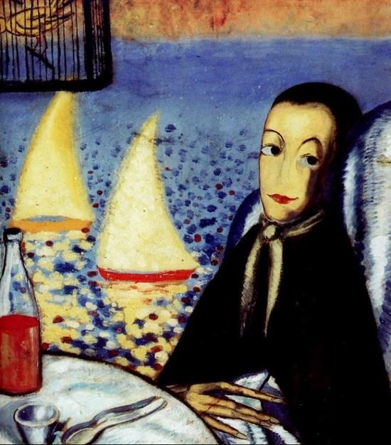 L'enfant malade (Autoportrait à Cadaqués) - Salvador Dali