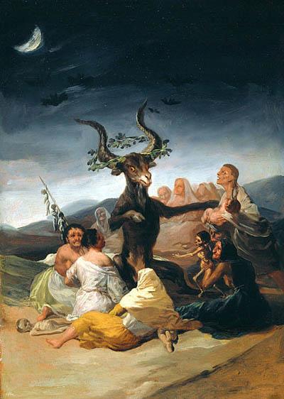 Le Sabbat des sorcières - Francisco de Goya