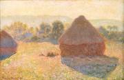 Meules, milieu du jour - Claude Monet