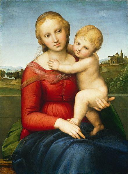 Raffaello - La madone à l'enfant