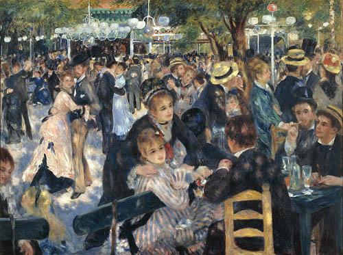 Auguste Renoir - Bal du moulin de la Galette