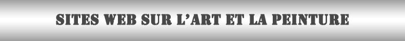 Site web d'arts et de peintures