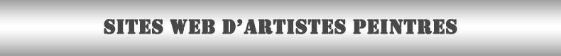 Site web d'artistes peintres en France