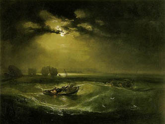 William Turner - Pêcheurs en mer