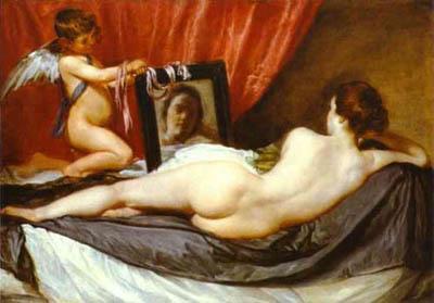 Diego Vélasquez - Venus à son miroir